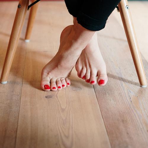 Gellak op voeten nagelstudio Nail Atelier Sassenheim